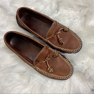 Tod's Brown Leather Loafers - Sz 37